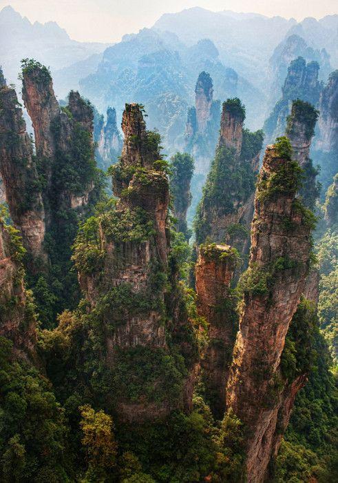 mountainsChina's StoneForest